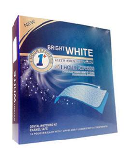 Tiras blanqueadoras Bright White