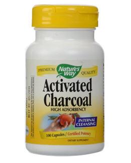 Blanquear dientes con carbón activado_activated charcoal Nature's Way