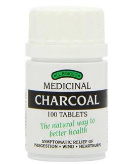 Blanquear dientes con carbón activado_activated charcoal Bragg's Medicinal