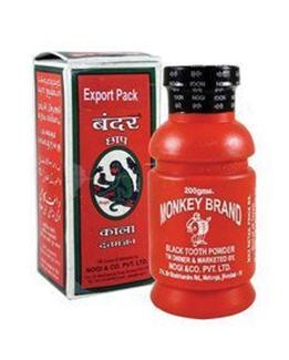 Polvo Dental Monkey Brand Tooth Powder Ayurvedic